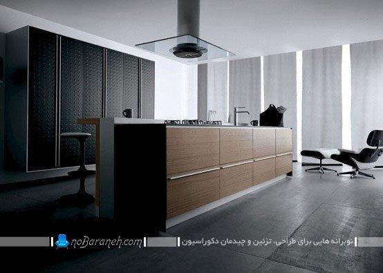 طرح جدید کابینت مدرن آشپزخانه / عکس