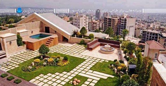 روف گاردن در پشت بام خانه های تهران، روف گاردن و باغ بام