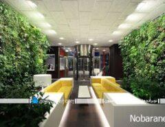 پوشش دیوارهای خارجی ساختمان با گیاهان طبیعی