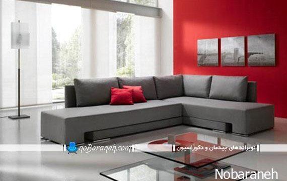 مبل راحتی تخت خواب شو با طراحی شیک و مدرن