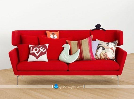 مبل و کاناپه فانتزی با پایه های ظریف فلزی