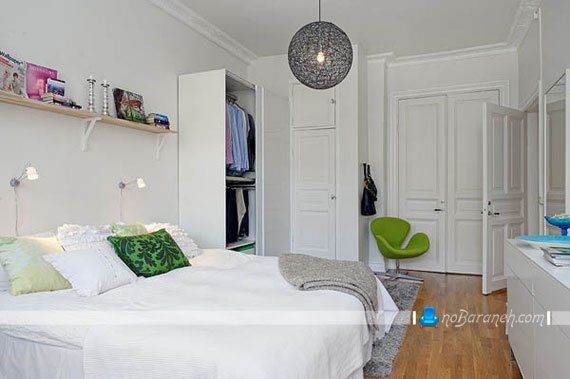 طراحی دکوراسیون ساده اتاق خواب / عکس
