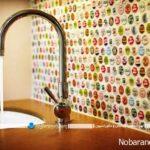 مدل های تزیین دیوار آشپزخانه با کاشی، شیشه یا pvc