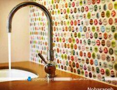 مدل دیوارپوش مدرن آشپزخانه