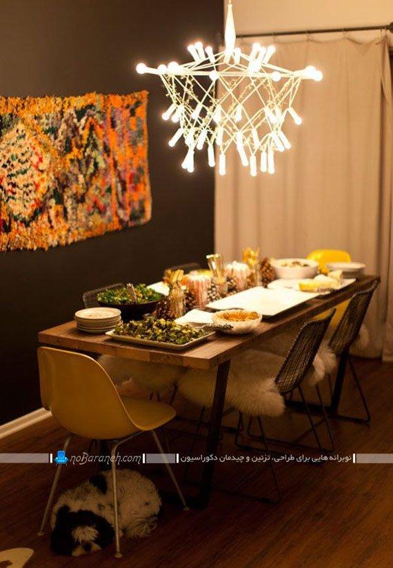 مدل میز ناهارخوری ارزان و کلاسیک با طرح های متنوع