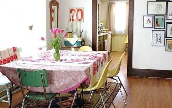 میز وصندلی ناهار خوری ارزان و ساده