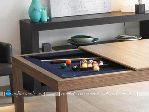 میز ناهار خوری چوبی و جدید