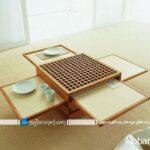 میز ناهارخوری مدرن چوبی