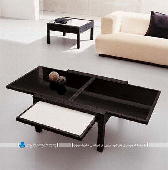 میز جلو مبلی جدید و چوبی