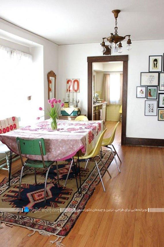میز غذاخوری ساده و ارزان قیمت / عکس