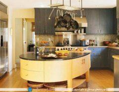 مدل آشپزخانه جزیره دار با طراحی مدرن