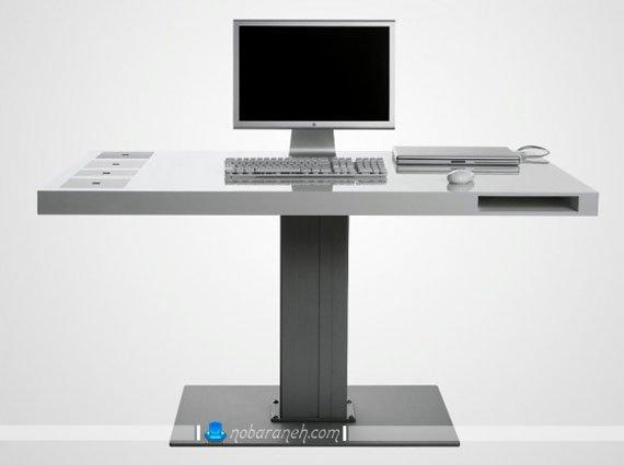 میز کامپیوتر مدرن و شیک pvc