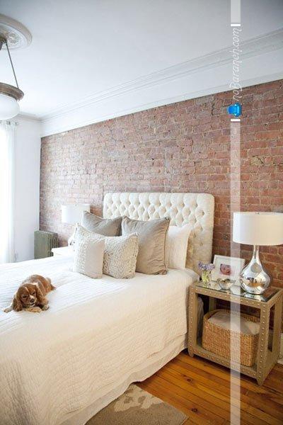 عکس و مدل های تزیین دیوار اتاق خواب عروس / عکس