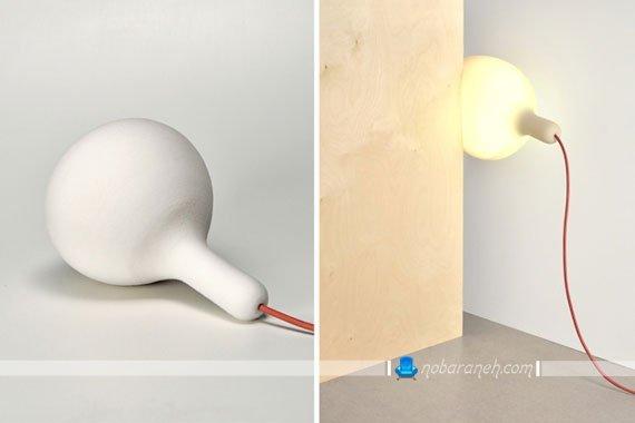 چراغ روشنایی با جنس فوم انعطاف پذیر / عکس