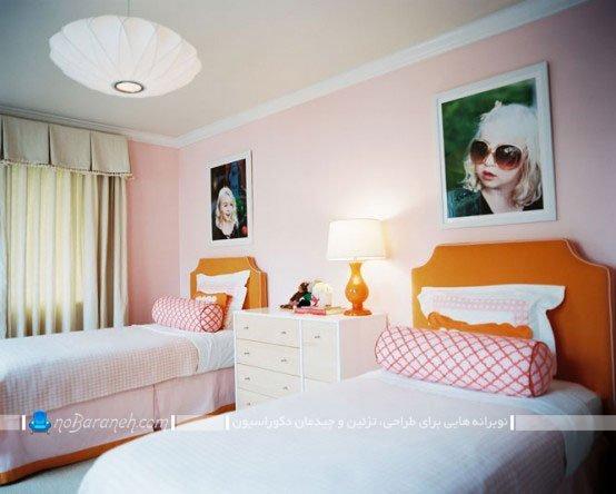 طراحی دکوراسیون شیک و زیبا در اتاق کودکان دختر / عکس