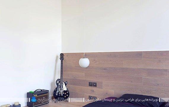طراحی دکوراسیون اتاق خواب خانه 60 متری
