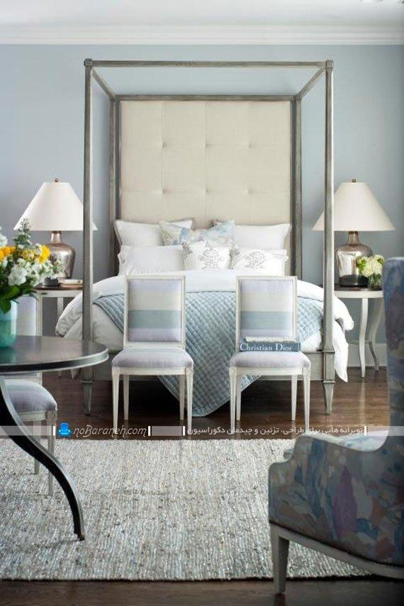 چیدمان صندلی در اتاق خواب عروس