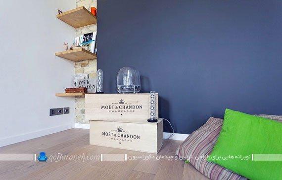 تزیین خانه با وسایل ارزان / عکس