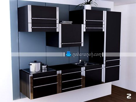 مدل کابینت متحرک آشپزخانه