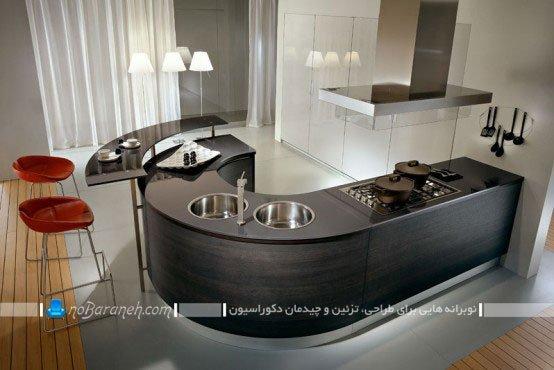 مدل اپن جدید آشپزخانه