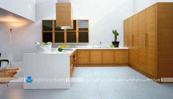 مدل کابینت های مدرن آشپزخانه ام دی اف