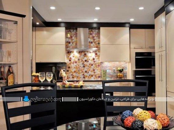 مدل های متنوع دیوارپوش آشپزخانه