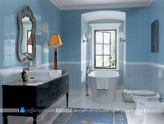 طرح جدید سرامیک و کاشی دیوار و کف حمام