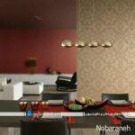 انتخاب کاغذ دیواری برای خانه و ایده های مختلف نصب