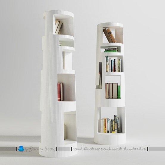 کتابخانه خانگی تزیینی و فانتزی با طراحی جدید / عکس