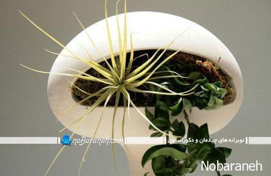 مدل گلدان سنگی پایه بلند