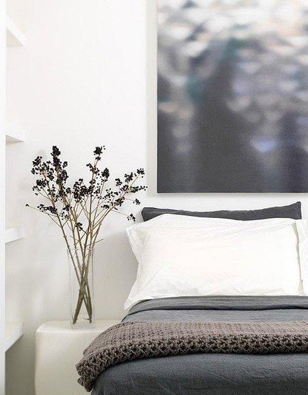 مدل تزیین اتاق و سرویس خواب با گلدان / عکس