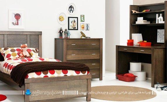 مدل سرویس خواب و تخت خواب اتاق نوجوان / عکس