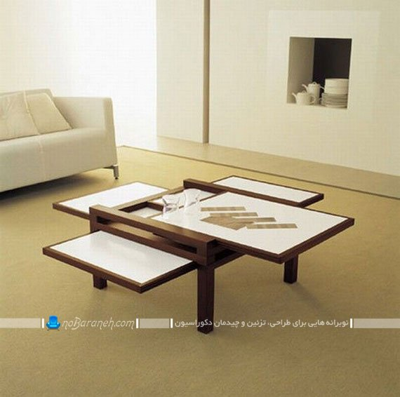 عکس و مدل میز عسلی مناسب خانه و منازل کوچک / عکس
