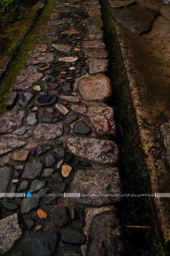 مدل سنگ فرش کف ریز و درشت