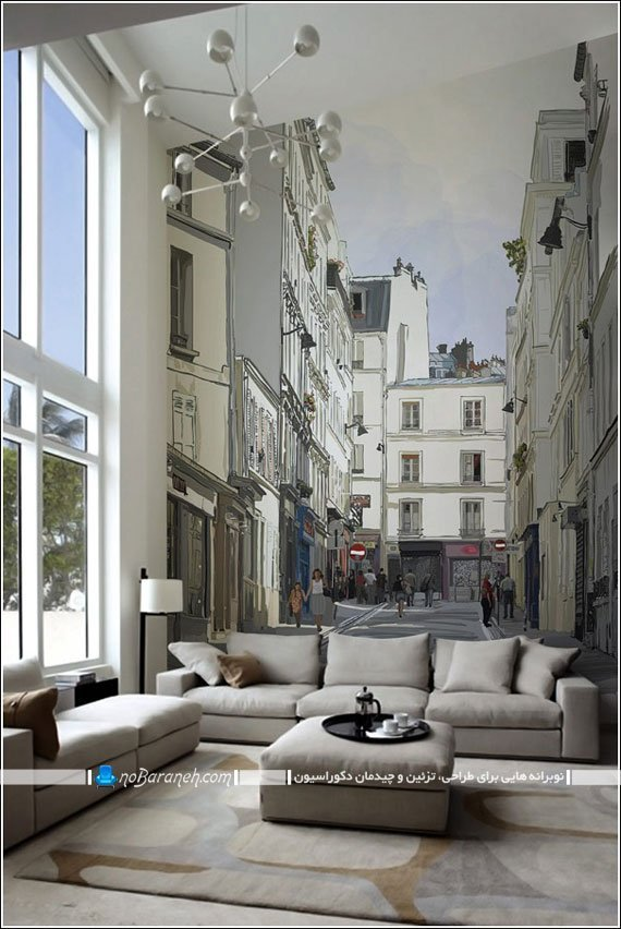 پوستر کومار با نمای شهری / عکس
