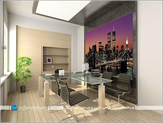 مدل های پوستر دیواری برای فضای اداری / عکس