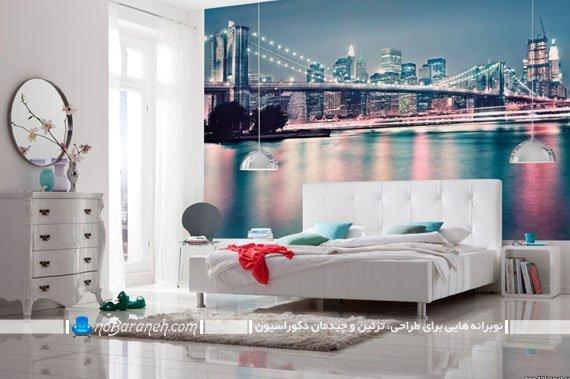 مدل پوستر دیواری کومار با طرح پل و دریا
