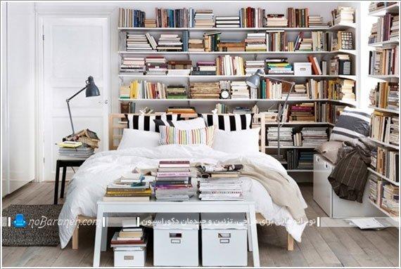 سرویس خواب و کتابخانه ایکیا