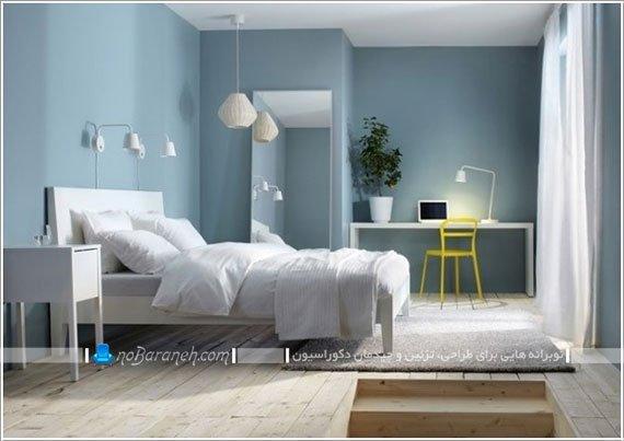 مبلمان اتاق خواب ایکیا / عکس
