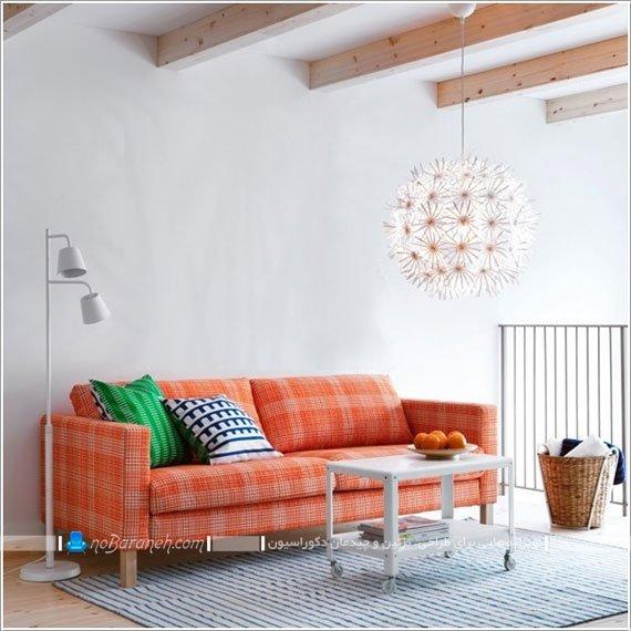 کاناپه و میز جلو مبلی ساده ikea / عکس