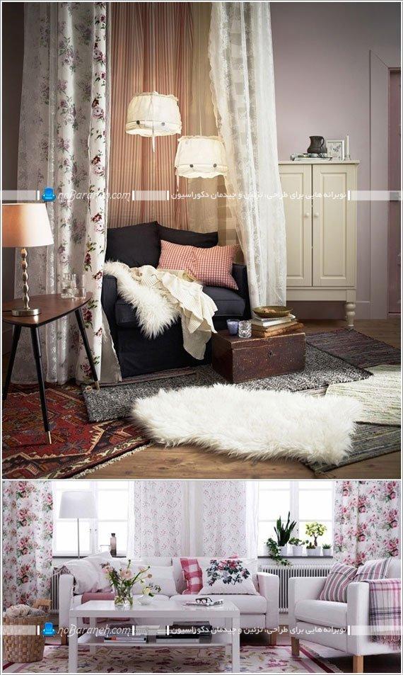 چیدمان داخلی خانه به سبک ایکیا ikea / عکس