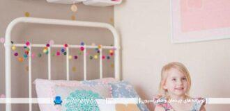 تزیین اتاق کودک دختر با وسایل ساده