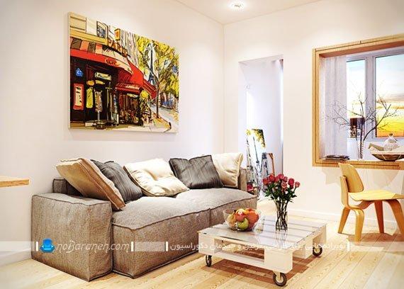 دیزاین و چیدمان خانه کوچک به شکل شیک و زیبا