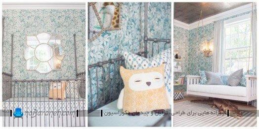 دیزاین اتاق نوزاد / عکس