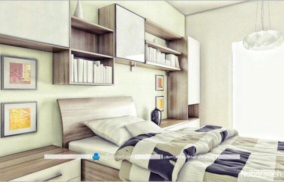 دیزاین زیبا و مدرن پسرانه در اتاق خواب نوجوانان