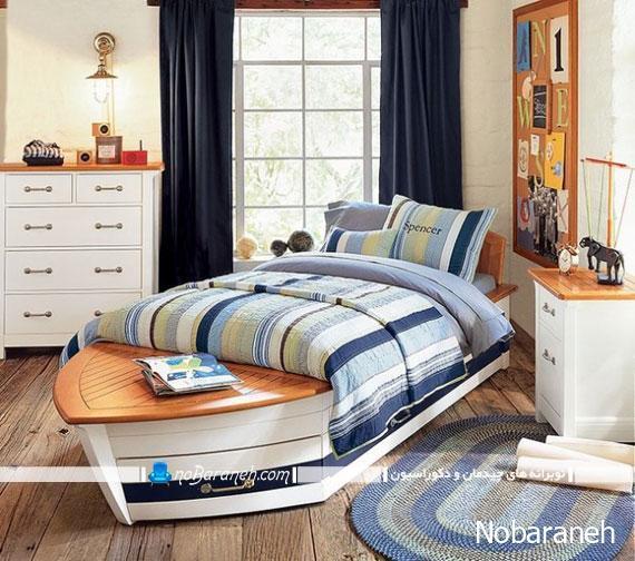سرویس خواب و تخت خواب اتاق کودک با مدل جدید و زیبا