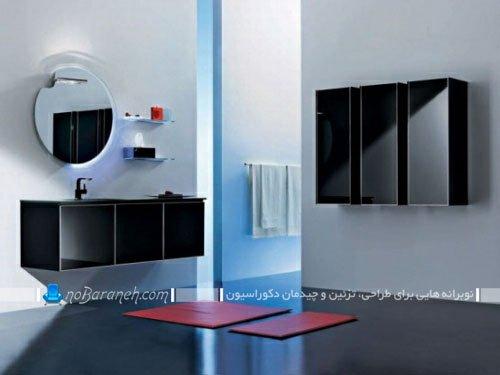 کمد و کابینت دیواری سرویس بهداشتی