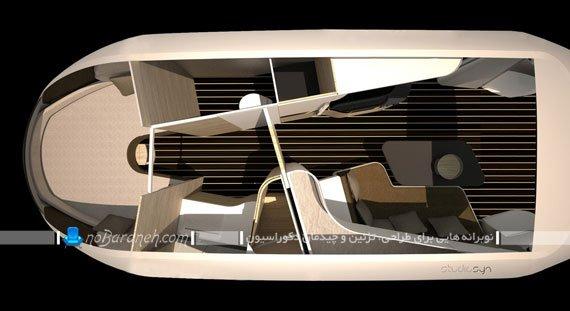 تصاویر دکوراسیون داخلی ماشین کاروان