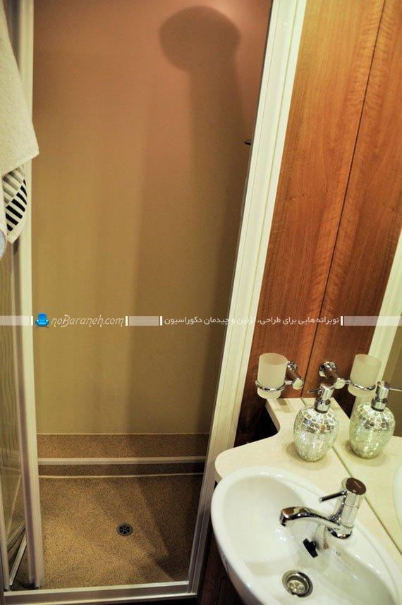 کاروان و کمپر دارای سرویس بهداشتی / عکس