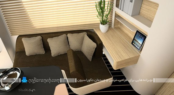 نمای داخلی کاروان و کمپر / عکس